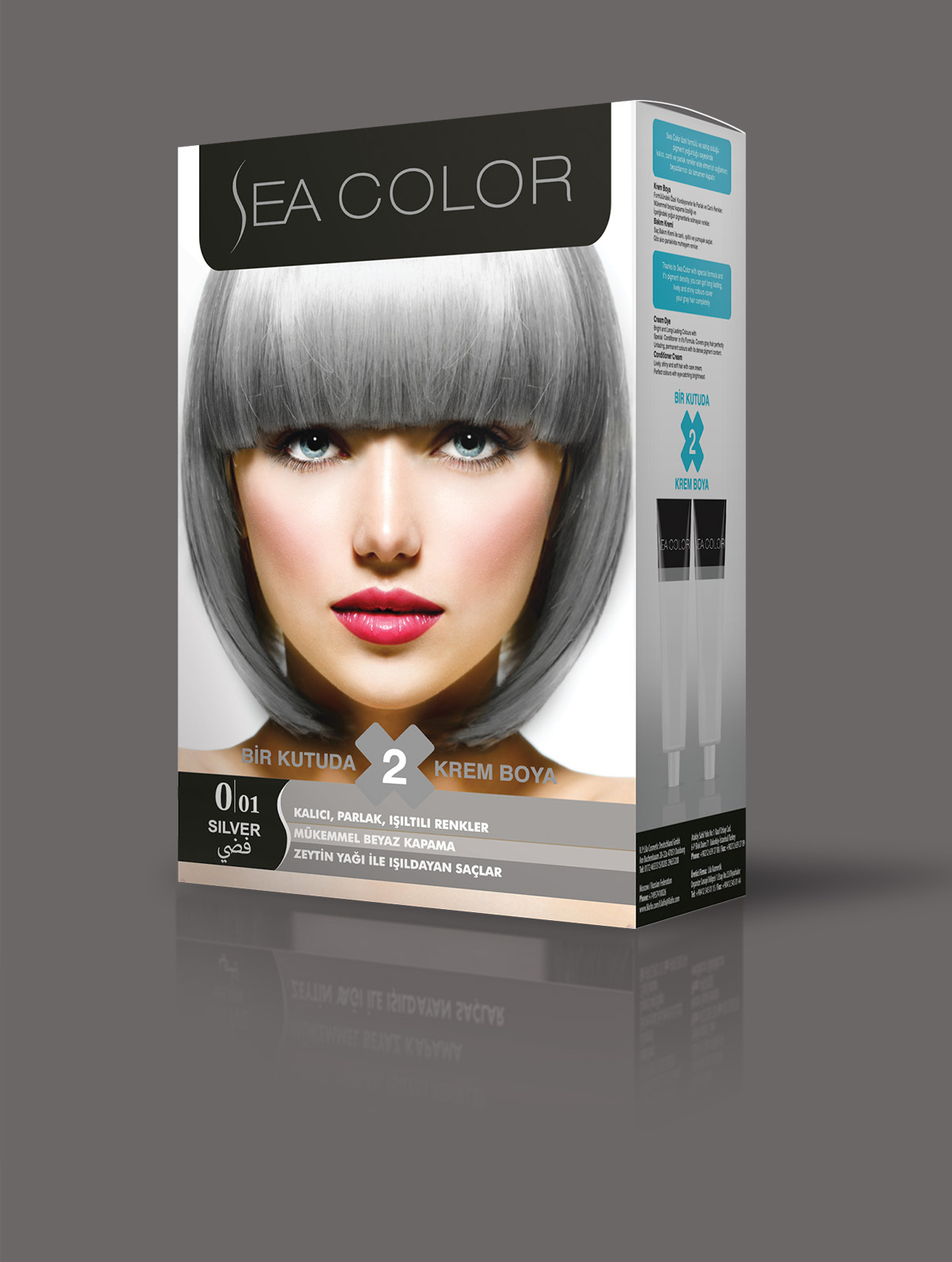 New Gray Hair Coloring Products